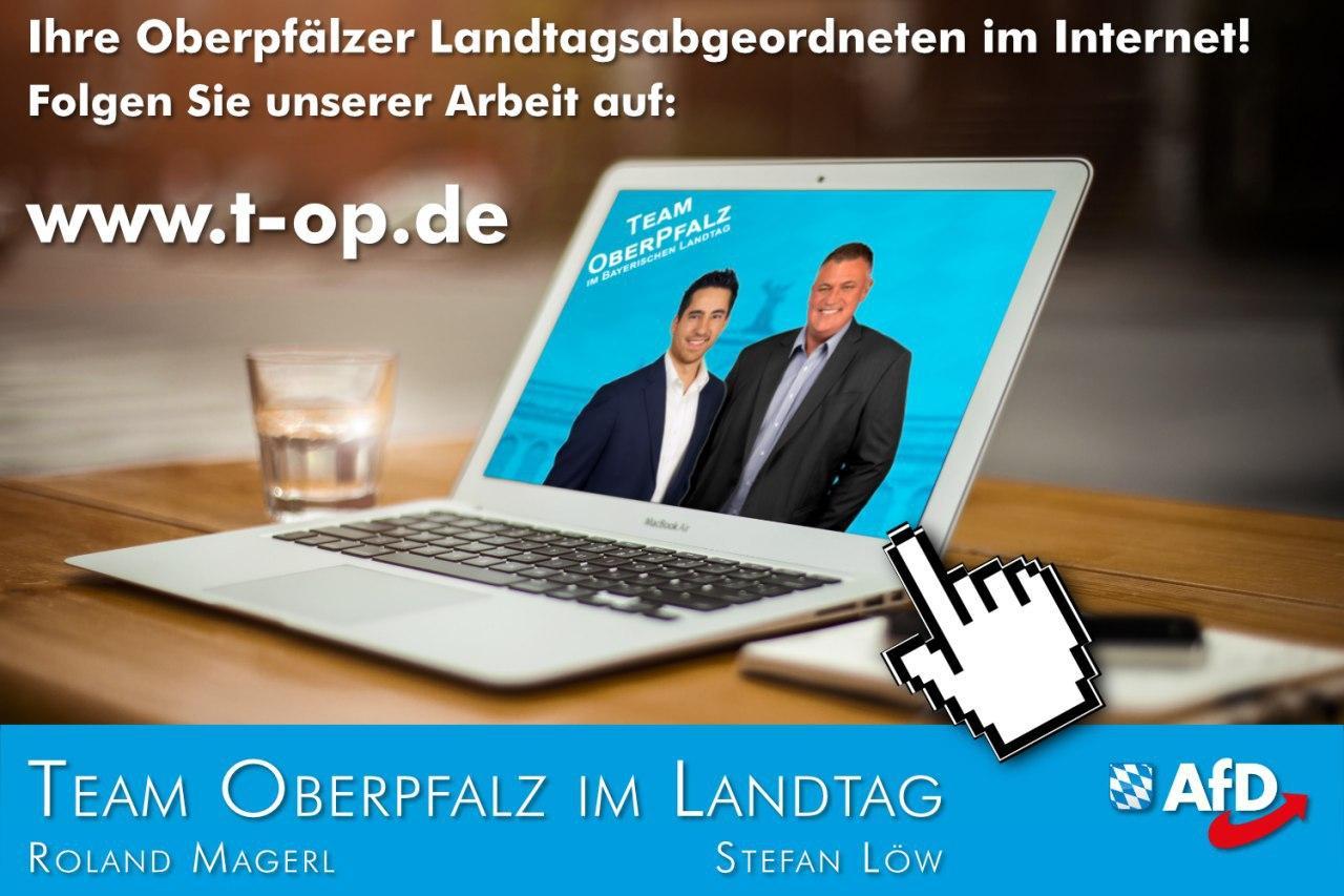 Homepage Team Oberpfalz